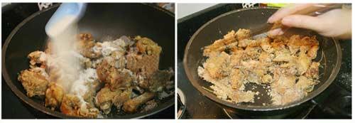 ga rang muoi6 - Cách làm món gà rang muối giòn thơm đậm vị
