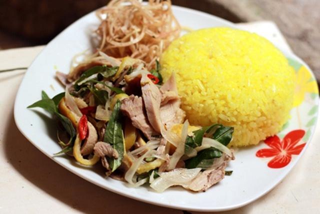 com ga quang nam - Cách nấu cơm gà Quảng Nam tại nhà ngon hơn ngoài hàng