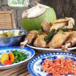 ga hap nuoc dua 3 150x150 - 2 cách làm món gà hấp nước dừa thơm ngọt