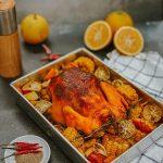 ga nuong cam 2 150x150 - Cách làm Gà nướng cam nguyên con ngon độc lạ cho bữa cơm gia đình