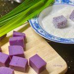 cach lam banh khoai tim phu dua 2 150x150 - Cách làm bánh khoai lang tím phủ dừa đơn giản