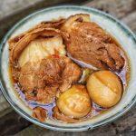 thit kho trung voi mang kho 150x150 - Cách làm Thịt kho trứng & măng khô vừa ngon, vừa lạ