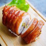 thit lon cuon hanh sa nuong 150x150 - Cách làm Thịt Lợn cuộn hành sả nướng béo ngậy, giòn tan